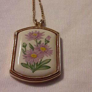 Old Gold-toned Avon Necklace